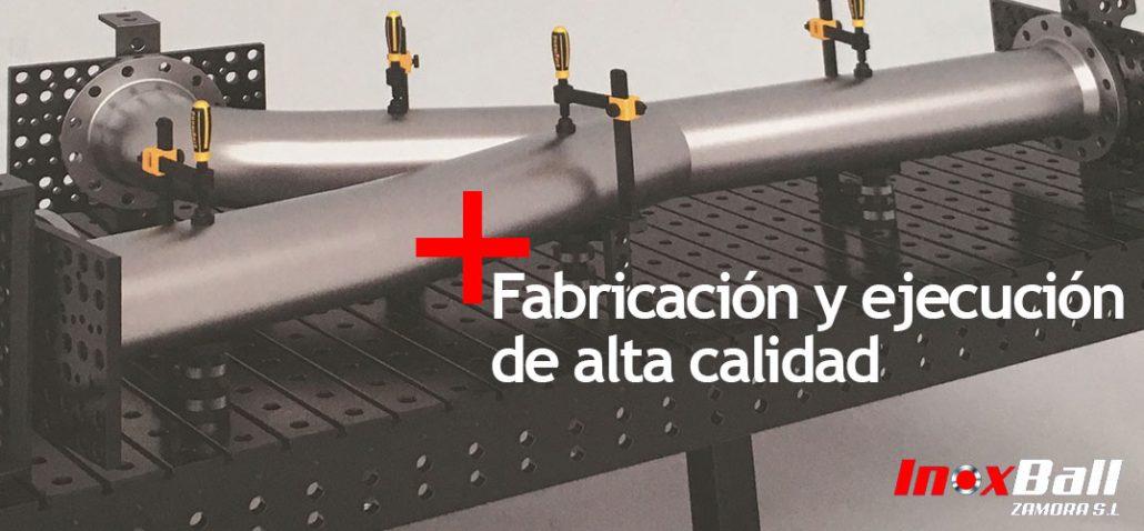 Fabricación y ejecución - Inoxball